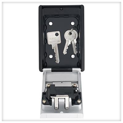 ABUS 787 Schlüsselsafe Schlüsseltresor Innenansicht