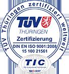 Notrufzentrale DIN ISO Zertifizierung